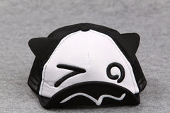 "Adjustable Baby Peaked ""Kitty-Cap"" Hat"