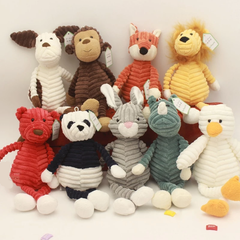 Plush Animal Buddies - 11 Options!