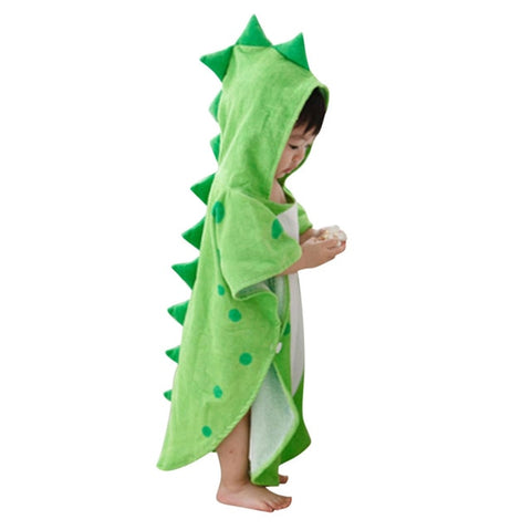 'Darling Dino' Hooded Bath Towel