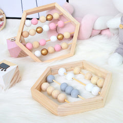 'Abacus' Wooden Baby Toy