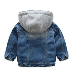 'Jean' Hooded Denim Jacket