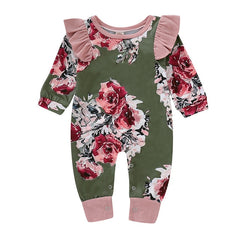 'Christine' Floral Jumpsuit