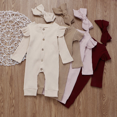 'Darling' Bow + Jumpsuit Set
