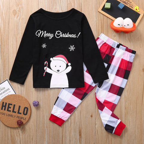 'Merry Christmas' Shirt + Pants Set