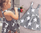 Stars and Stripes Summer Toddler Dress