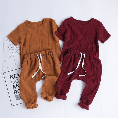 'Chill' Soft Shirt + Pants Set
