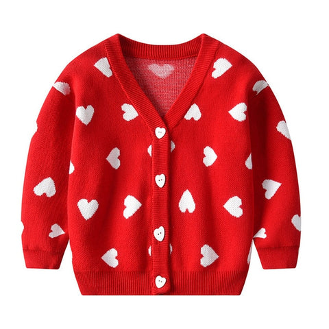 'Cupid' Heart Cardigan