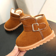'Buckles' Warm Winter Boot