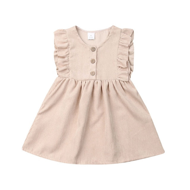 'Kim' Sleeveless Ruffle Dress