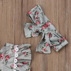 'Ingalls' Floral Dress or Romper