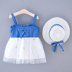 'Naveah' Tutu Dress + Hat Set