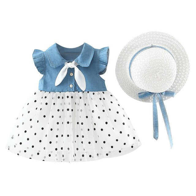 'Jessie' Tutu Dress + Hat Set
