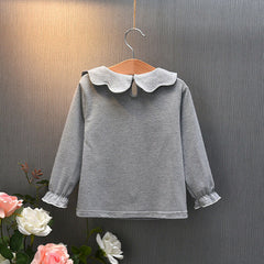 'Flourish' Collared Top