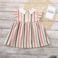 'Sylvie' Striped Dress
