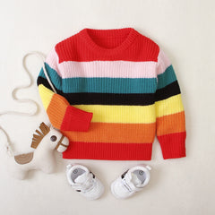 'Prism' Colorful Sweater