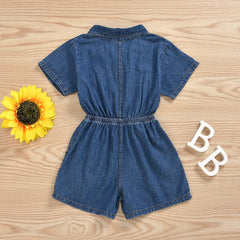 'Denise' Denim Romper