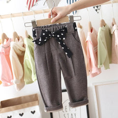 'Jilly' Big-Bow Trousers