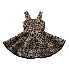 'Fierce' Leopard Print Dress