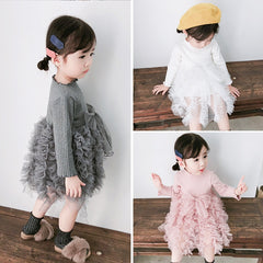 'Fluff' Long Sleeve Tutu Dress