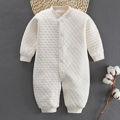 'Quilted' Soft Cotton Jumpsuit