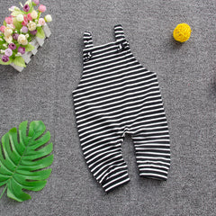 'Analog' Striped Jumpsuit
