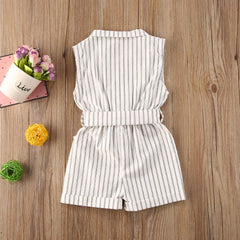 'Betheny' Collared Romper