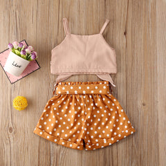 'Summer Dots' Two-Piece Outfit