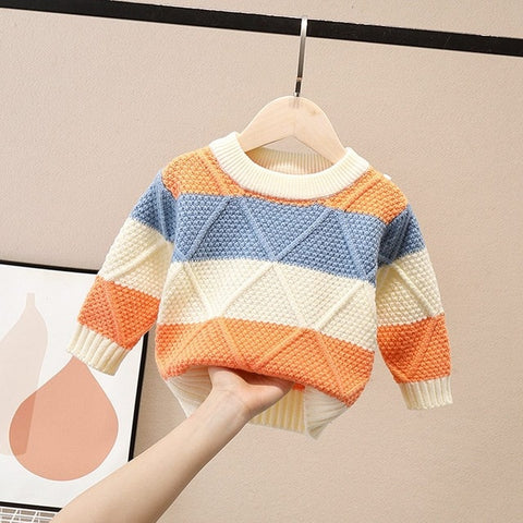 'Naples' Striped Sweater