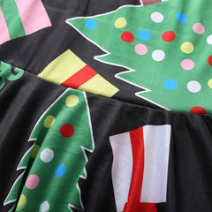 'Merry' Christmas Print Dress