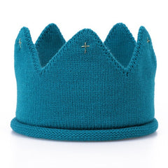 *NEW* Unisex Baby Hand-Knitted Crowns - Birthday / Photoshoot Prop