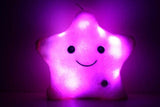 Luminous 'StarLight' LED Plush Pillow