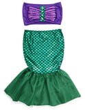 Girls Mermaid Costume 2-PC Outfit