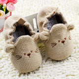 Wollen Baby Pre-Walker Mouse Shoes