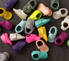 Baby Moccasin First-Walker Shoes