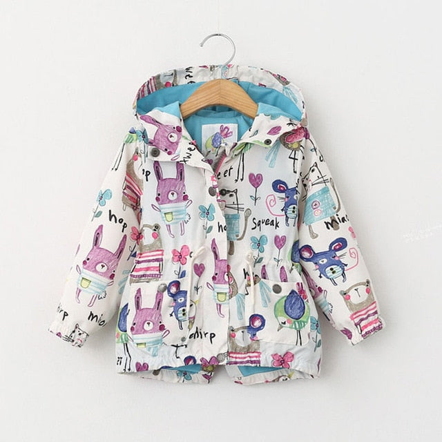 'Sketch' Illustrated Animal Jacket