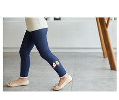'Danee' Denim Winter-Lined Leggings