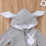 'Big Bunny Brand' Hooded Jumpsuit