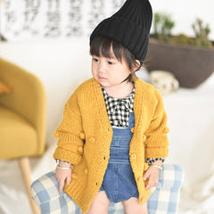 'Fall Ball' Cardigan Sweater