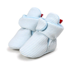 Winter Fleece First Walker Crib Booties