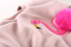 'Flamingo' Double Lined Sweatshirt