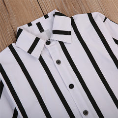 'Sybil' Striped Dress Shirt