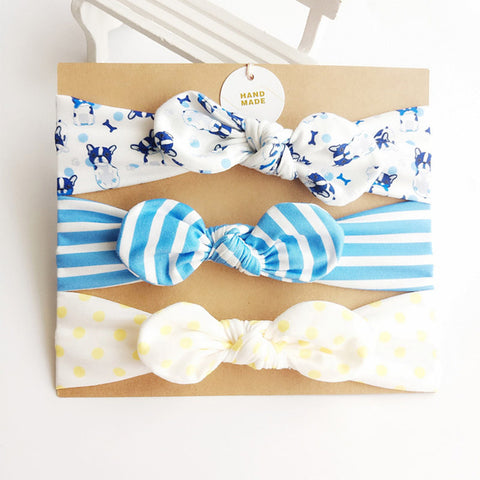 3-Piece Newborn Headband Set