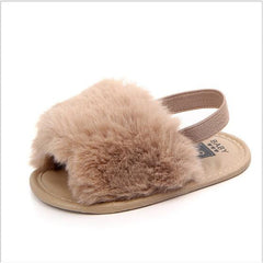 'Slumber Party Chic' First Walker Slippers