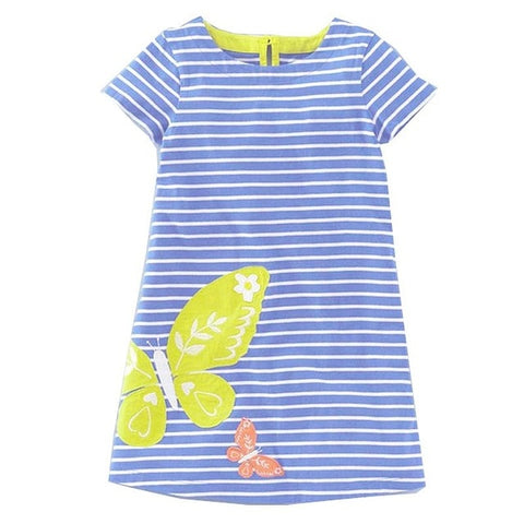 Animal and Activity Robe Fille Euro Style Summer Girls Dress