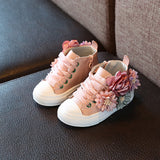 'Florence Bloom' Hi-Top Sneakers