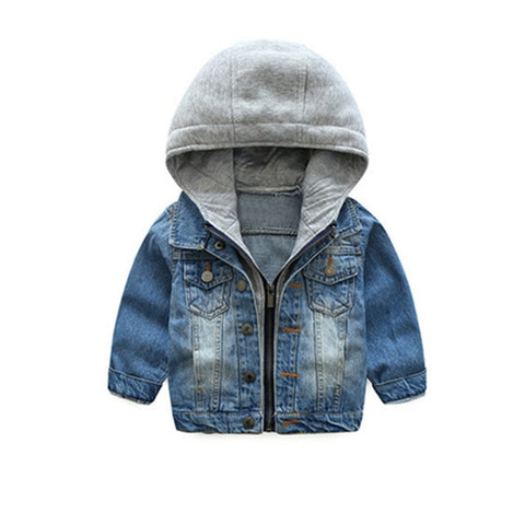 Dylan Denim Hooded Jacket