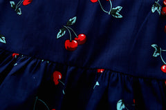 Cherry Toddler Sun Dress
