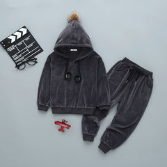 'Victory' Lounge Velour Track Suit