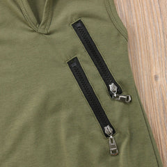 'Platoon' Sleeveless Jumper