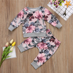 'Flor' Shirt + Pants Set